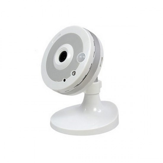 2GIG-CAM-100W 2GIG 2.8mm 30FPS @ 720p Indoor HD Security Camera Built-in WiFi 5VDC
