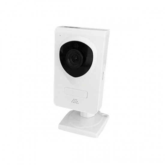 2GIG-CAM-101-NET 2GIG 3.6mm 720p Indoor IR Day/Night Cube Security Camera Built-in WiFi 5VDC