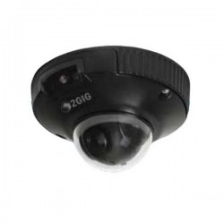 2GIG-CAM-250PB 2GIG 2.8mm 30FPS @ 1080p Outdoor IR Day/Night Dome Security Camera 5VDC/PoE - Black
