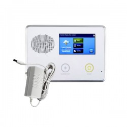 [DISCONTINUED] 2GIG-CP21-345E2 2GIG GC2 Go!Control Security & Home Automation Control Panel with AC-2 Plug