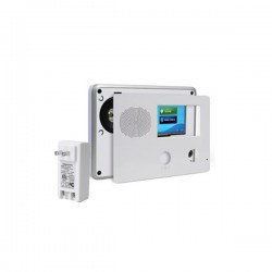 2GIG-CPX1-345E 2GIG GC2 Go!Control Security & Home Automation Control Panel with AC1 Plug - Faceless Panel