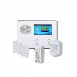 2GIG-GCKIT410 2GIG GC2 Go!Control 4-1-0 Security and Home Automation Kit with 4 x Door/Window Contacts, 1 x PIR Motion Detector and 1 x AC1 Plug