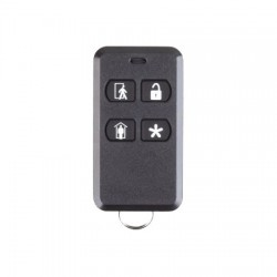 2GIG-KEY2-345 2GIG 4-Button Key Ring Remote