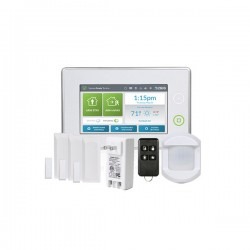 [DISCONTINUED] 2GIG-KIT311-GC3 2GIG GC3 Go!Control Security and Home Automation Kit with 3 x Door/Window Contacts, 1 x PIR Motion Detector, 1 x 4-Button Key Ring Remote and AC1 Plug