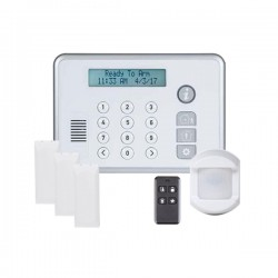 2GIG-RELY-KIT2 2GIG Rely 3-1-1 Kit with 3 x Wireless Door/Window Sensors 1 x Wireless PIR Motion Detector and 1 x Wireless Keychain Remote - Powered by Securenet